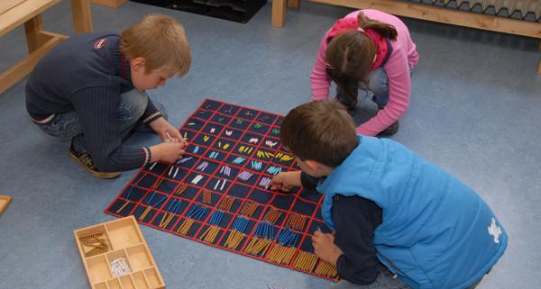 Begabungsförderung-Montessori