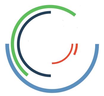 Impressum, Praxislogo: Sich ineinander drehende Kreise