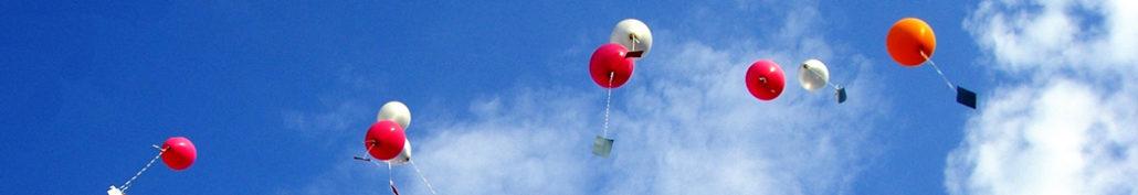 systemischer Ansatz, Hochfliegen, Luftballons steigen auf