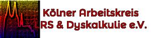 Logo der Kölner Arbeitskreises LRS & Dyskalkulie e.V.