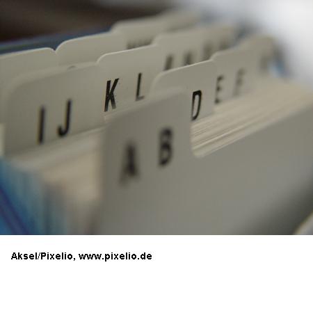 Grundwortschatz NRW, Karteikarten